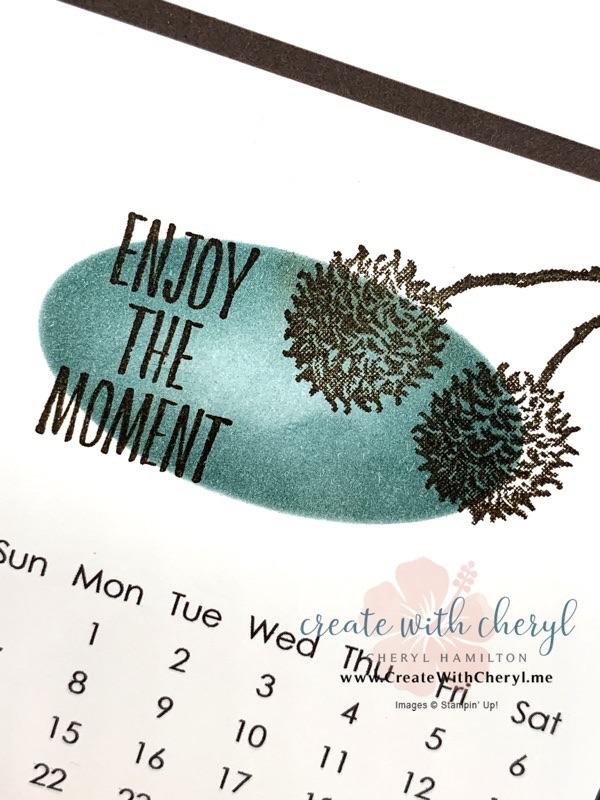 Enjoy the Moment Calendar #cherylhamilton