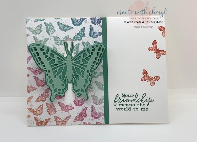 Butterfly Bouquet Pop Up Card