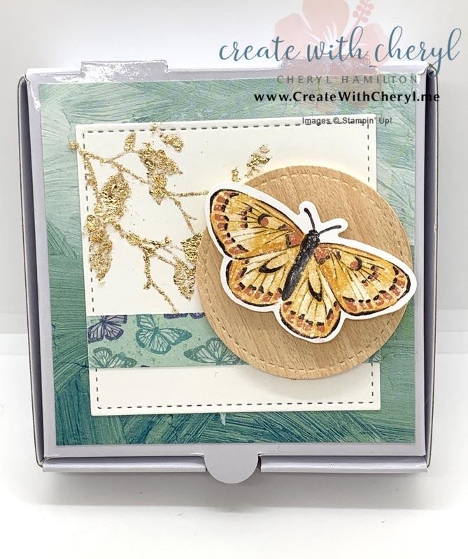 Gilded Leafing Mini Pizza Boxes