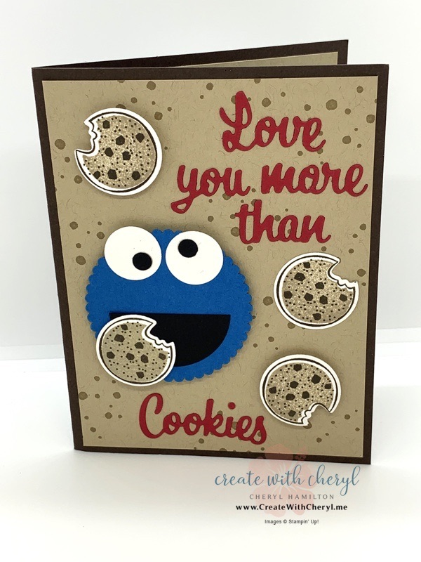 Cookie Monster Card
