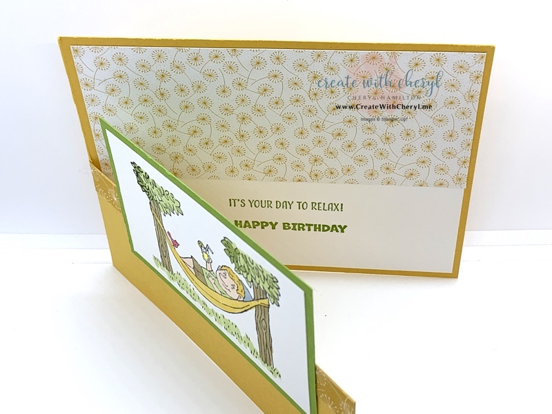 A Cut Above Split Front Card