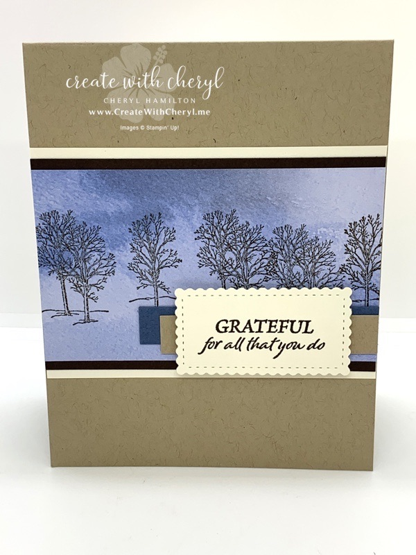 Nature's Beauty Masculine Card