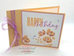 Biggest Wish and Art Gallery Fun Fold Card