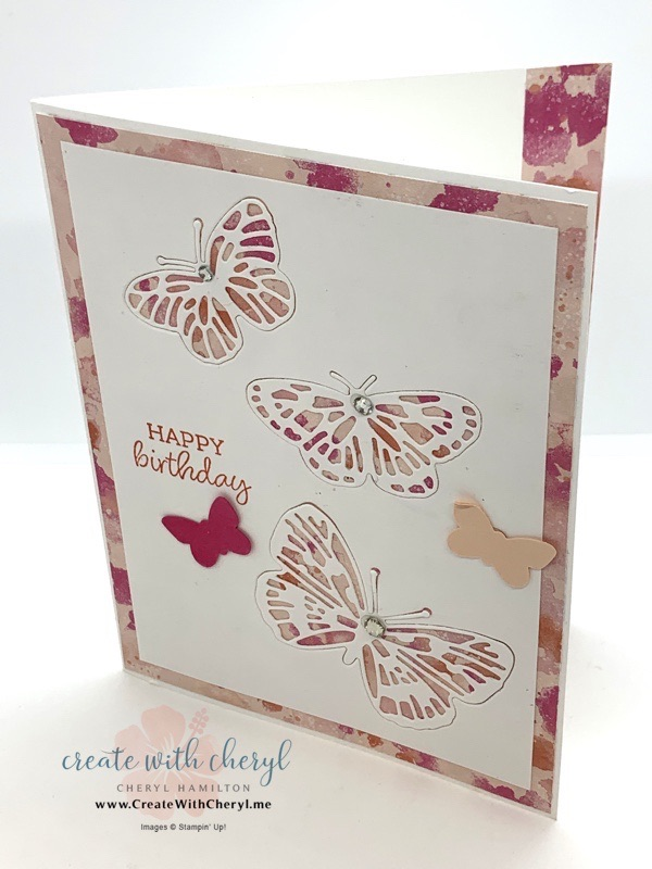 Brilliant Wings Birthday Card