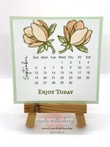 Good Morning Magnolia September Calendar