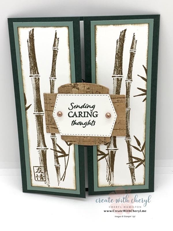 Bamboo Beauty Gatefold Card