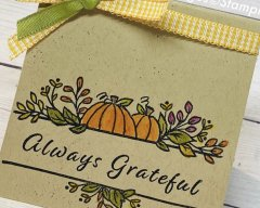 Simple Stampin' Sunday…with Celebrations Tidings