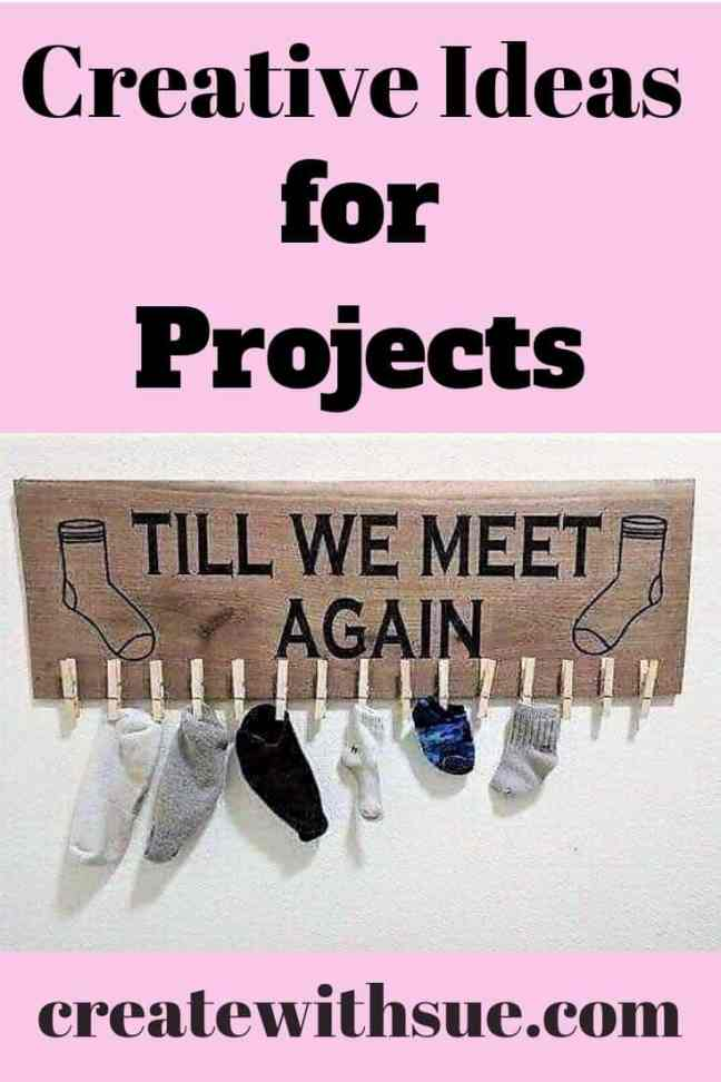 creative ideas for project till we meet again vinyl sign