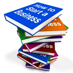 How To Start A Business Book Stack Shows Begin Company Partnersh by Stuart Miles