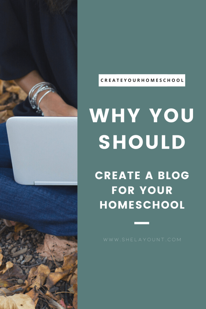 Should you create a blog for your homeschool? Click through to read why I think you should! Plus instant access to a free homeschool resource library!