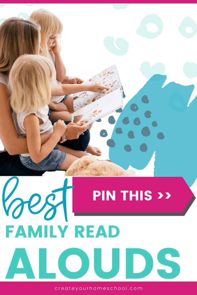 Looking for the best family read-alouds? Check out this list of unique read aloud books to add to your library list! Then comment to add your own favorites!  Click through to read :)