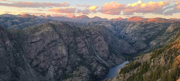 Sacred Rim Wind River Range Wyoming