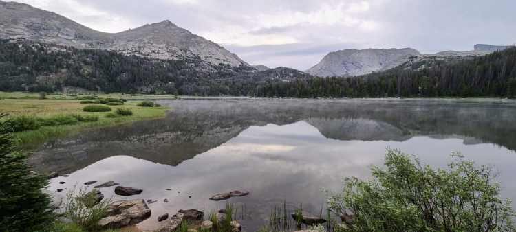 Big Sandy Lake in Wind River Range