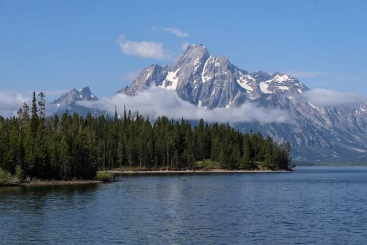 Lakeshore Trail Grand Tetons Wyoming