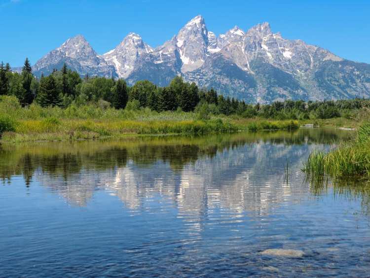 Schwabacher's Landing Grand Tetons Wyoming