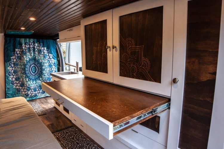 Table in Van Conversion