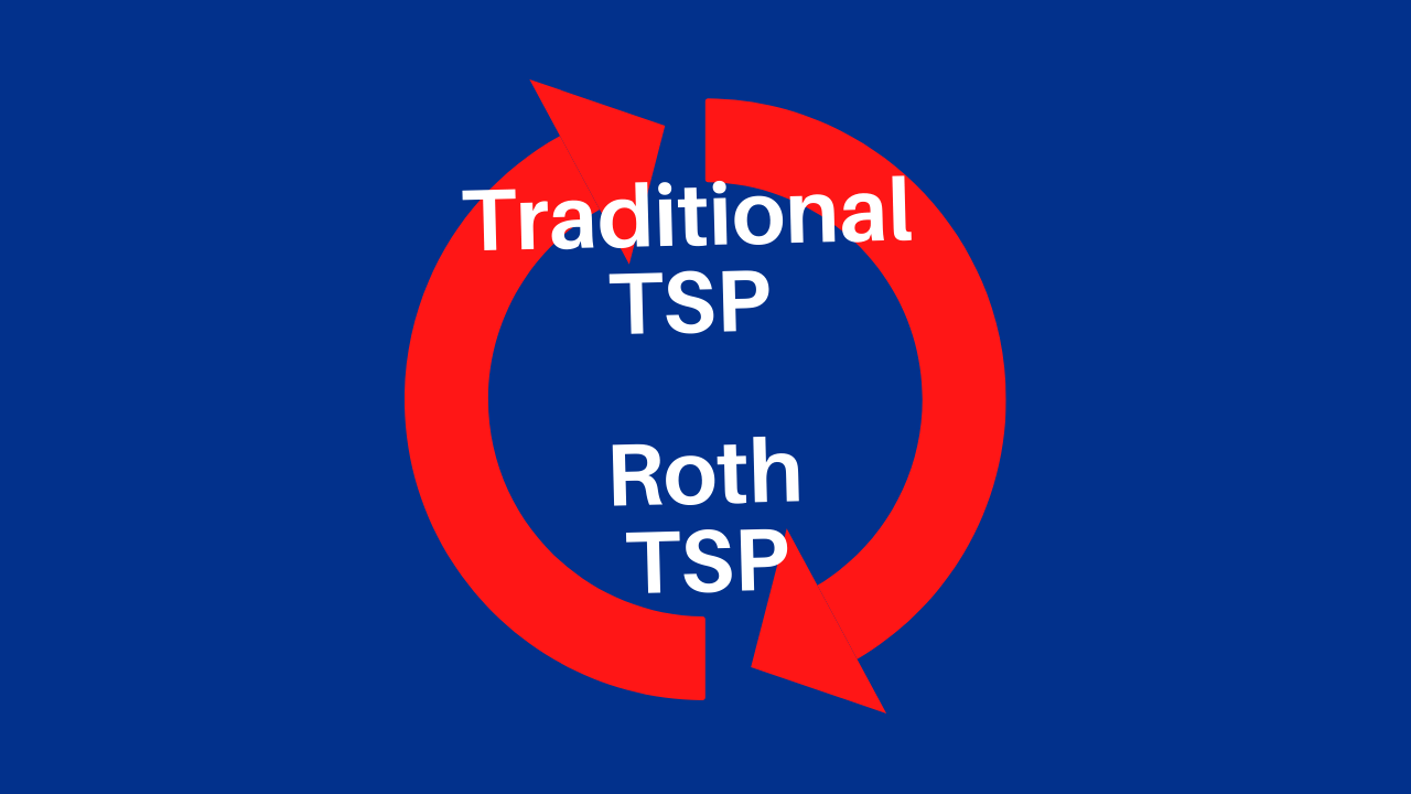 Can You Convert The Traditional TSP To Roth?