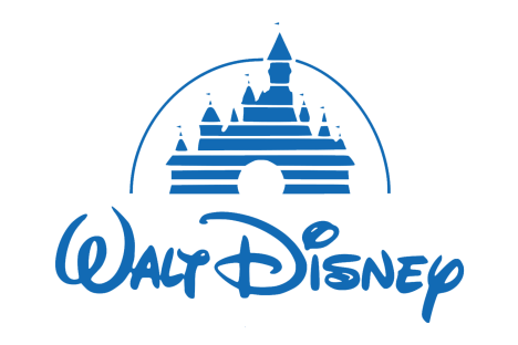 Walt Disney logo | Corporate brands logo with names