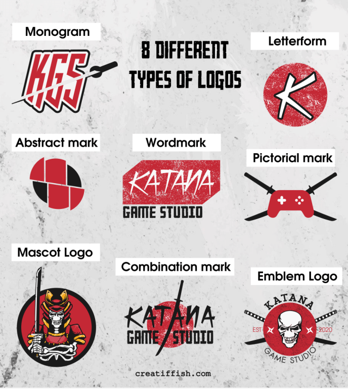 8 different types of logos