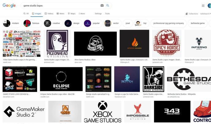 Game studio design inspiration