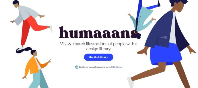 Humaaans Mix- -Match illustration library