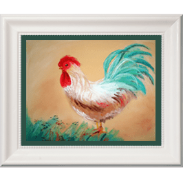 Country Rooster Live Icon