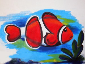 Tropical Clown Fish Project Image