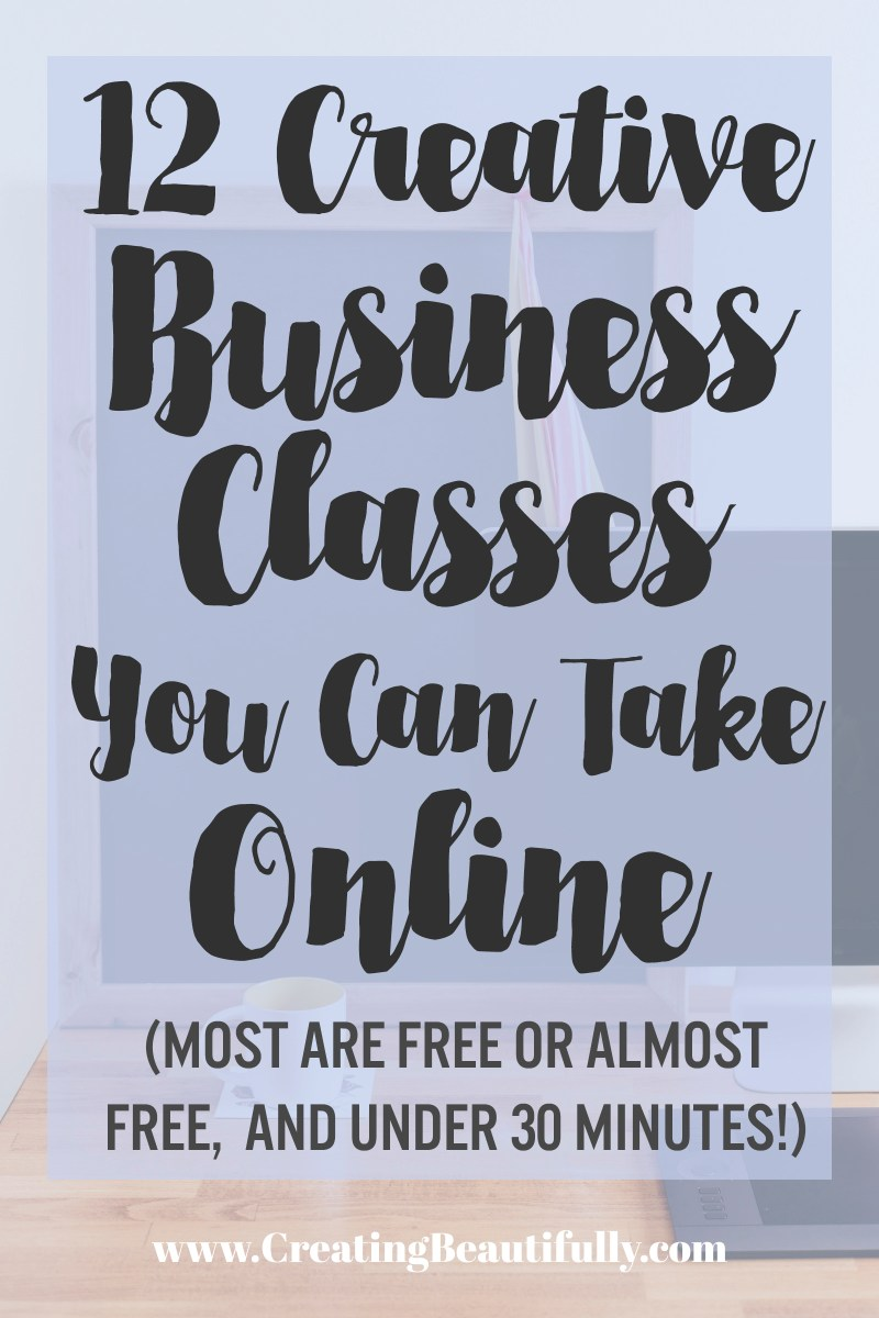 Creative Business Classes Online