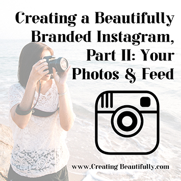 Creating a Beautifully Branded Instagram