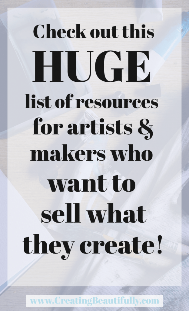 Resources for helping you live more creatively - and some amazing online business tools for you to create more passive income from your creative businesses.