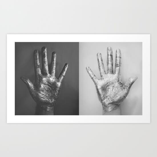 Artists Making Passive Income: Meet James McKenzie. Ten Fingers by James McKenzie
