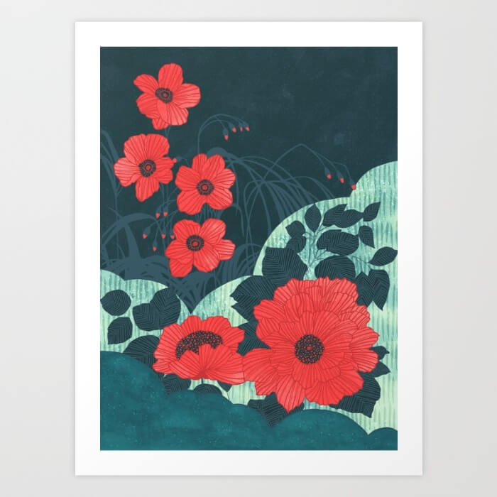 Learn How Artist Tracie Andrews Makes Passive Income With Her Art: Ruby by Tracie Andrews