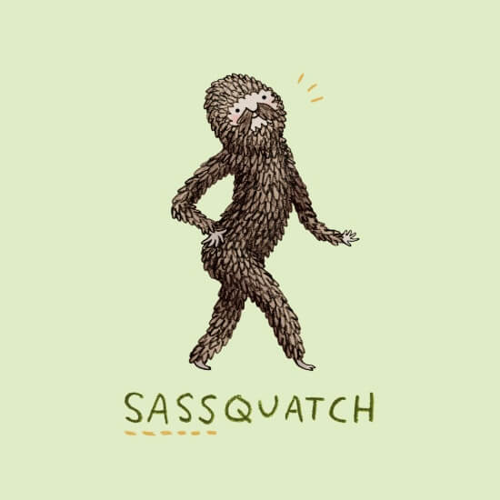 Meet Artists Making Passive Income with Art: Sassquatch by Sophie Corrigan