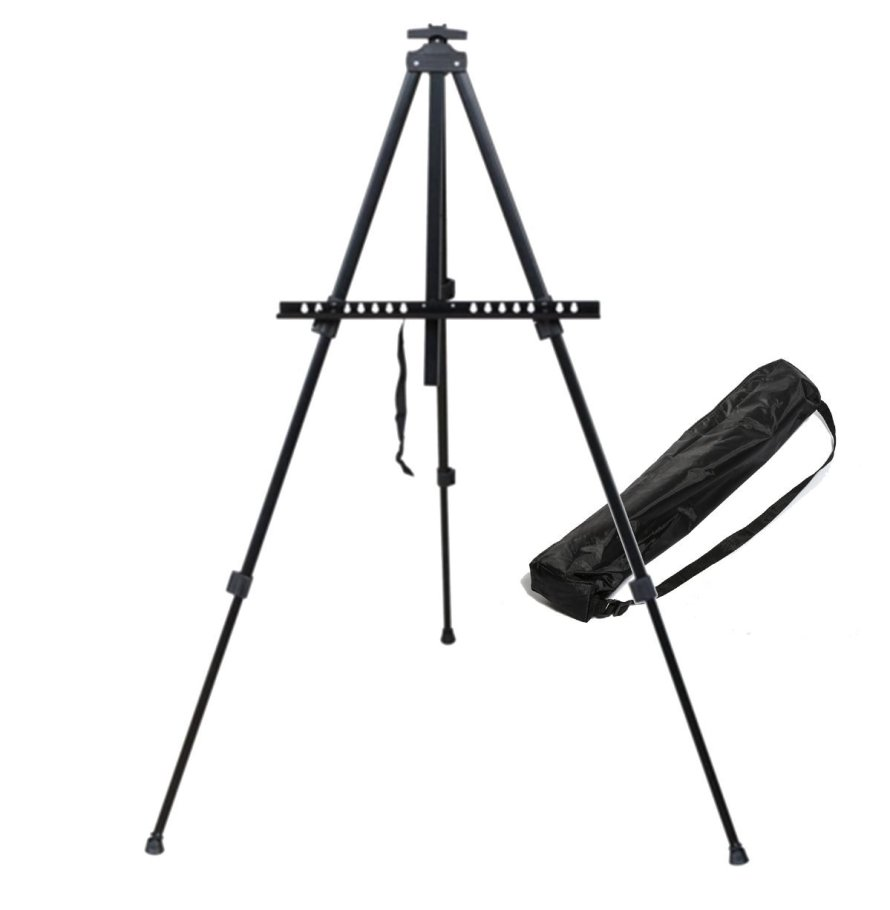 Tosnail Lightweight Aluminum Field Easel with Bag