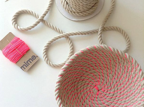 13 Modern DIYs to Try: Coil Rope Bowl Kit