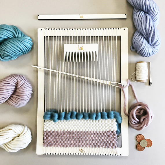 13 Modern DIYs to Try: Weaving Loom Kit