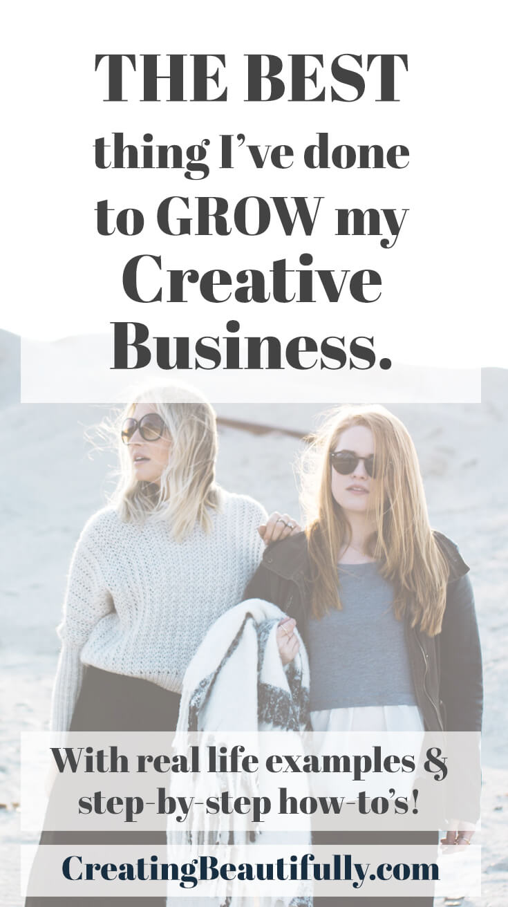 The Best Things I've Done to Grow My Creative Business: Grow Your Creative Business with an Accountability Partner