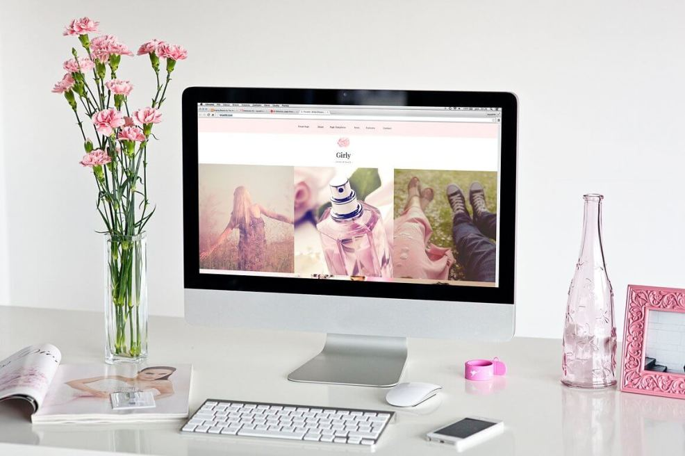 50 Modern, Minimal, Feminine WordPress Blog Themes: Girly