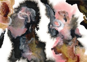 How I Create Art and Designs to Sell Passively: My Abstract Watercolor Paintings