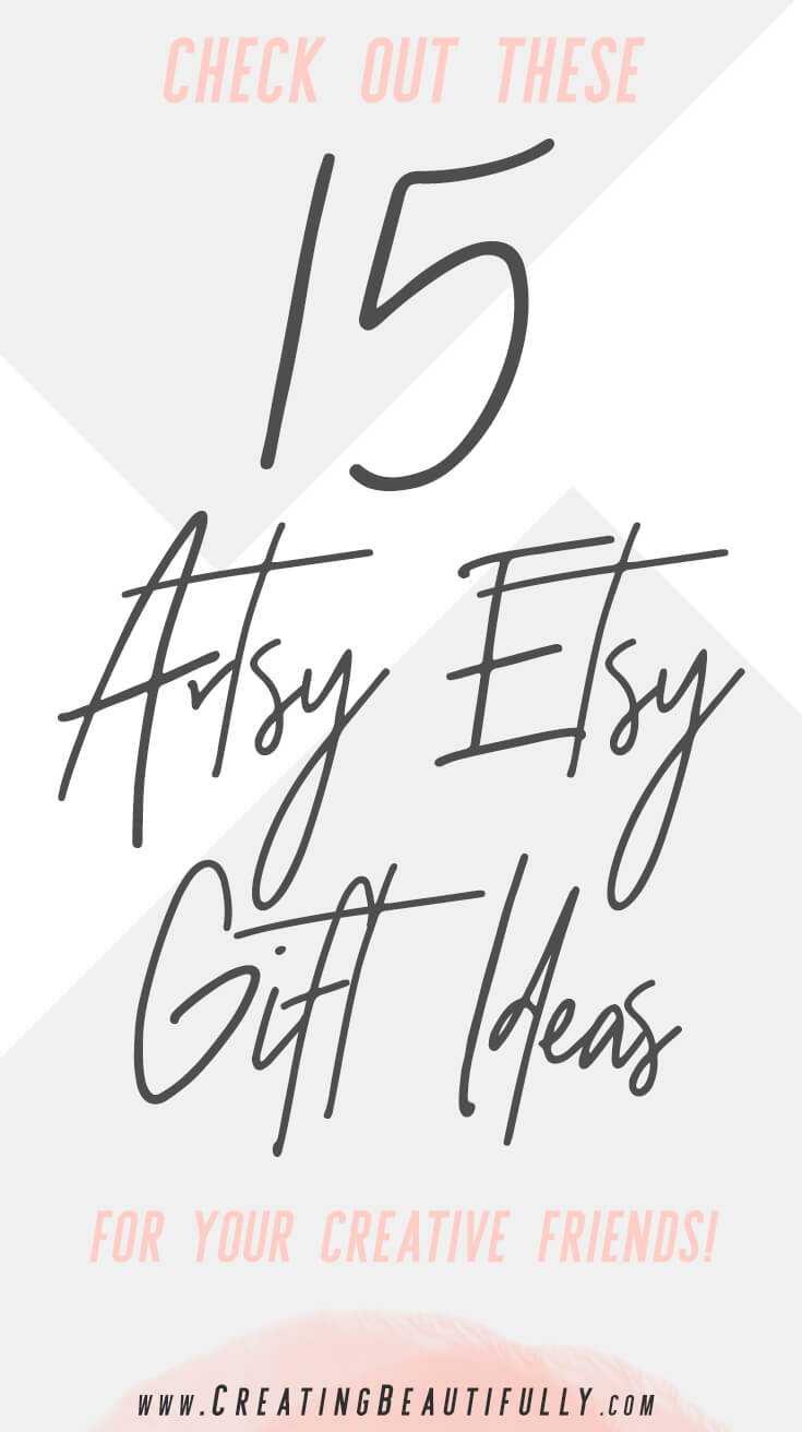 There are so many cute things in this Artsy Etsy Gift Guide!