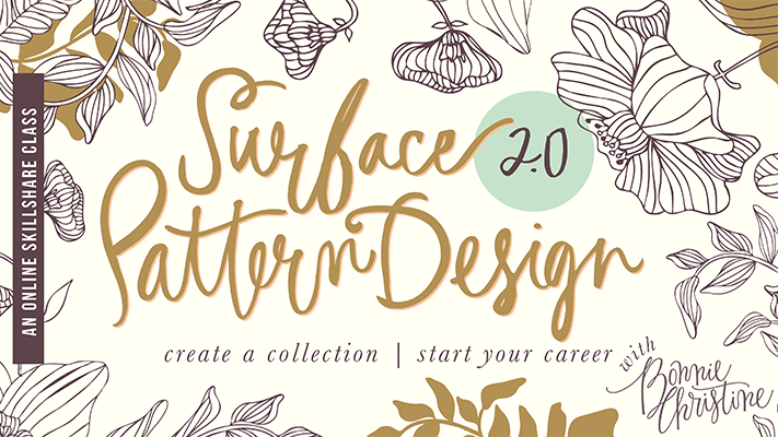 20+ Creative Business Classes You Can Take On Skillshare: Surface Pattern Design 2.0: Design a Collection | Start a Career