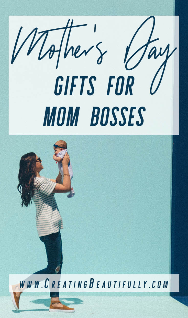 These 13 Mother's Day Gifts for Mom Bosses are sure to make the boss mom in your life happy this #MothersDay!