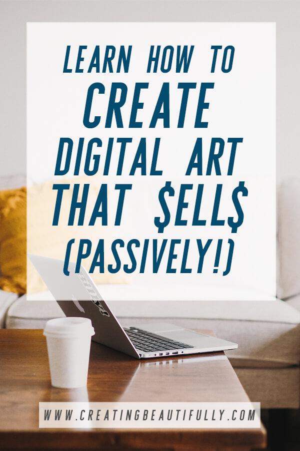 Learn to Use Procreate and Create Digital Art That Sells! #sellartonline #sellartpassively #howtomakedigitalart