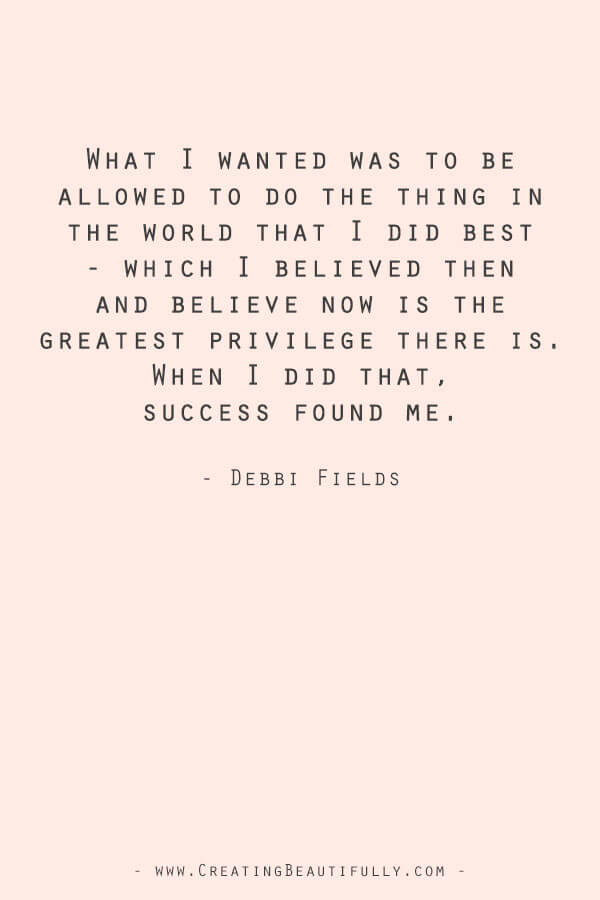 Inspiring Quotes from Powerful Women Entrepreneurs on CreatingBeautifully.com #inspiringquotes #quotesfromwomenentrepreneurs #bossgirlquotes