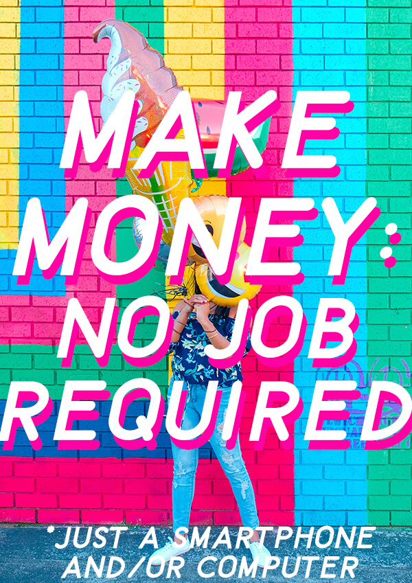 This is seriously got to be the easiest way to make money online. It could be a side hustle and/or a way to make more money with your blog (but you don't have to have a blog to do this!) Click through for more info. #makemoneyonline #sidehustle #sidegig #passiveincome