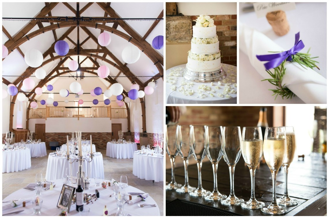 Long Furlong Barn wedding venue near Worthing, Sussex