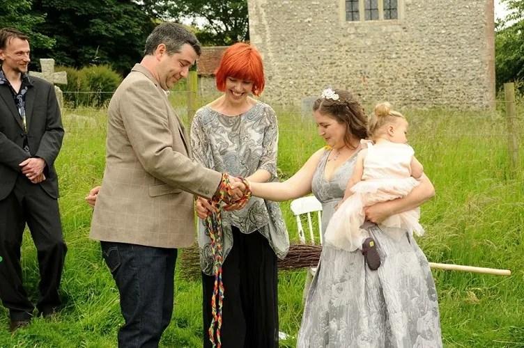 handfasting, anna guy, wedding, ceremony, anna guy handfasting