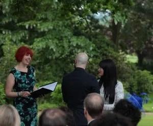 ceremony, ben fiona wedding, tree, outdoors, ceremony, wedding