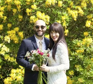 ben fiona wedding, outdoors, wedding, couple, ceremony