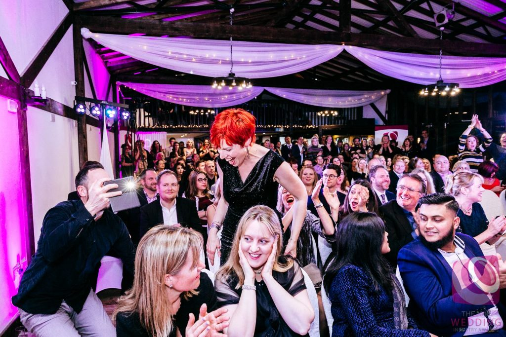 Claire Bradford of Creating Ceremony winner Wedding Celebrant of the Year South East Region The Wedding Industry Awards 2018